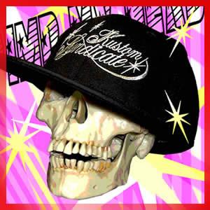 "【FLAT BRIM FLEX CAP】 ""PIMP MY HEAD"""