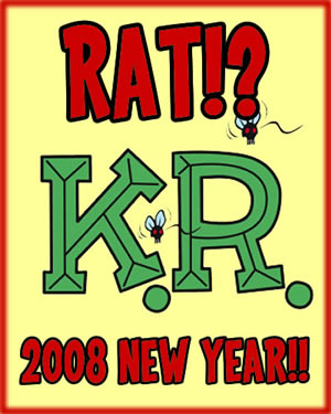 A HAPPY NEW YEAR!! RAT!? FINK?????