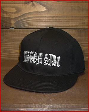 """【FLAT VISOR FLEX CAP】""""KUSTOM SIDE"""""""