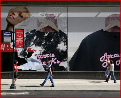 """【T-SHIRT】""""ACROSS THE KUSTOM"""" 広告写真"""