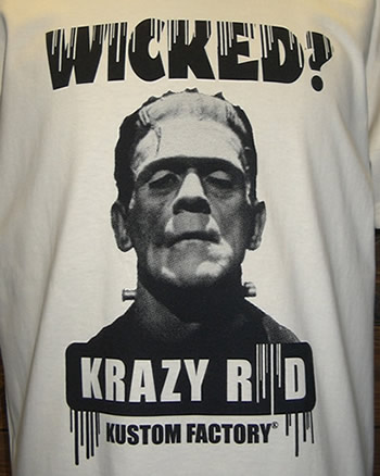 """""""WICKED?""""フロント拡大"""