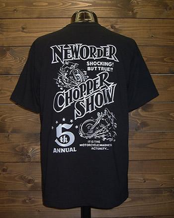ニューオーダーチョッパーショー2010販売Tシャツ
