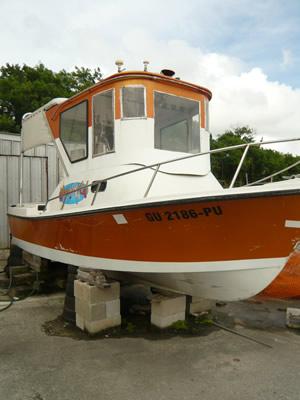HOS WILD ボート
