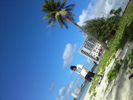 ハガニャビーチ